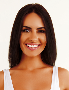 Dazzling Dark: get an on-salon spray tan that's 3-5 shades darker than your natural skin tone